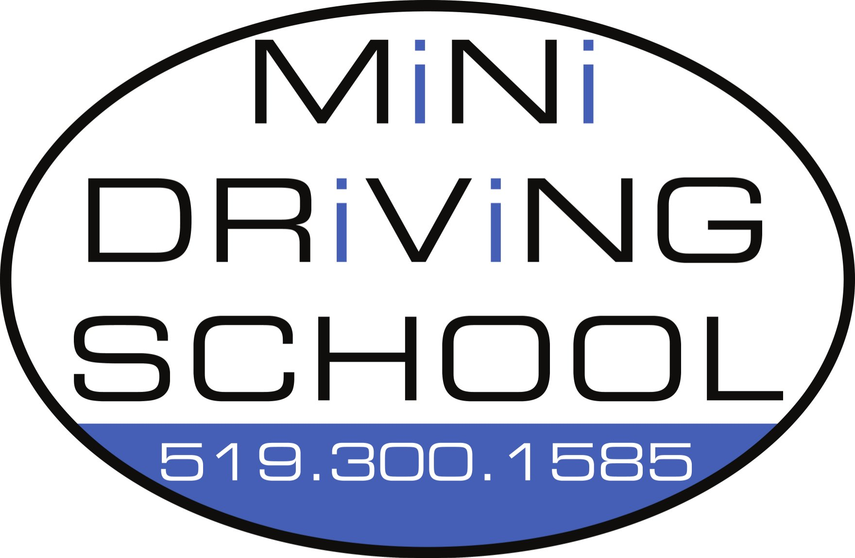 Mini Driving School Logo